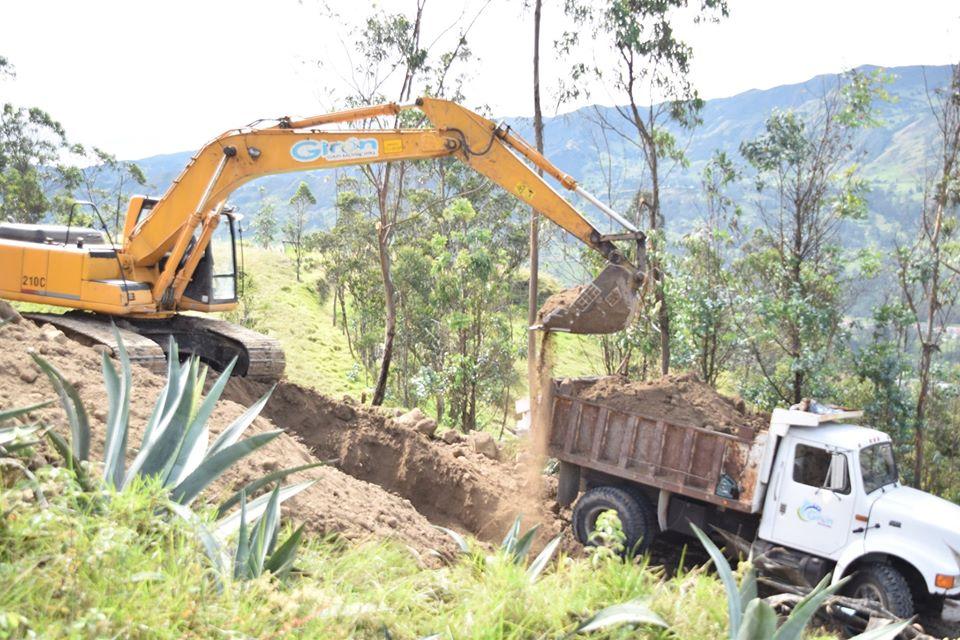 INICIO TRABAJOS DE CONSTRUCCIÓN TANQUE DE AGUA POTABLE (LUDO)