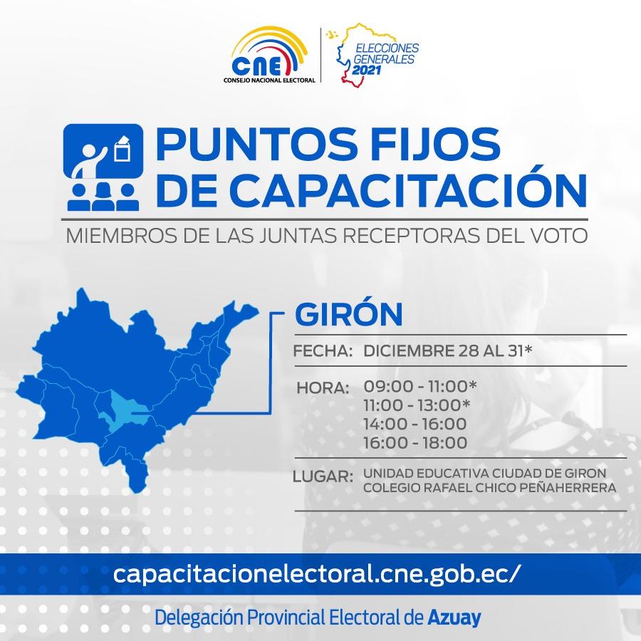 CONSEJO NACIONAL ELECTORAL (CAPACITACIONES)